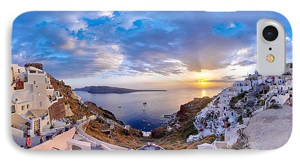 Oia Sunset Phone Case by Milos Novakovic