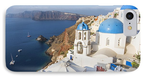 Oia Views, Santorini Greece IPhone Case by Brad Scott