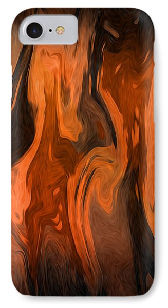 Oil Abstract Phone Case by Svetlana Sewell