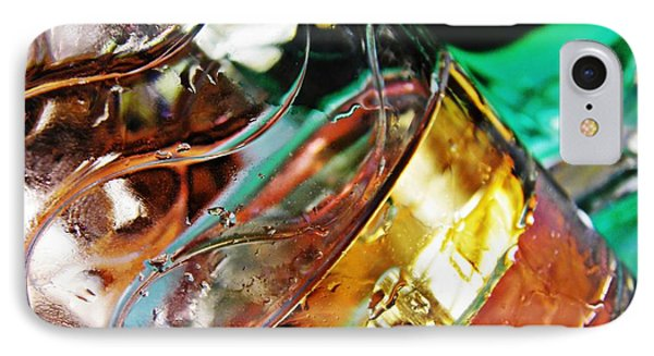 Oil And Water 28 Phone Case by Sarah Loft