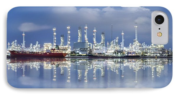 Oil Refinery Industry Plant IPhone Case