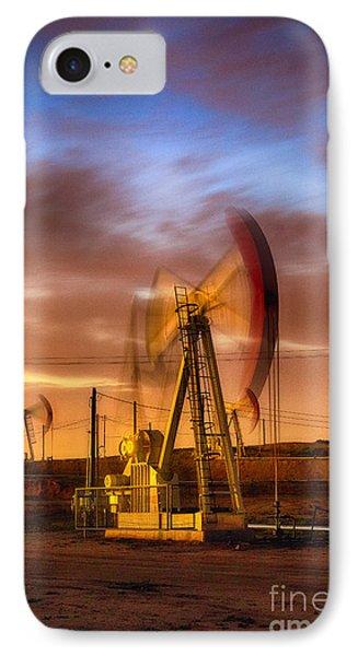 Oil Rig 1 IPhone Case