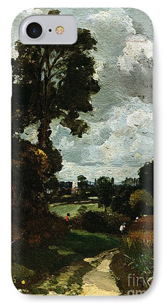 Oil Sketch Of Stoke-by-nayland Phone Case by John Constable