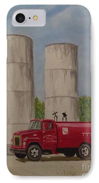 Oil Truck IPhone Case