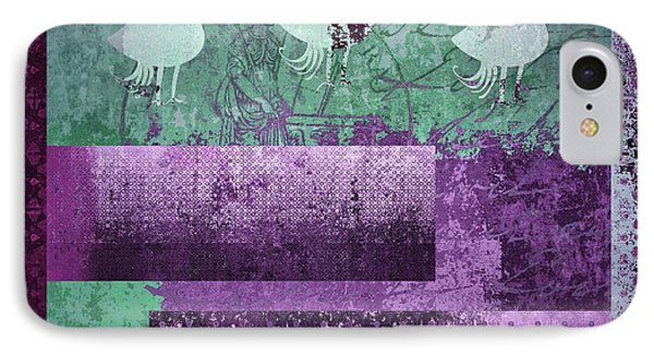 IPhone Case featuring the digital art Oiselot 01 - J097179222-bl02a by Variance Collections