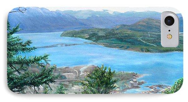 Okanagan Blue IPhone Case by Bonnie Heather