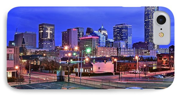 Okc Early Evening IPhone Case