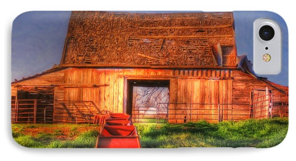 Oklahoma Barn IPhone Case