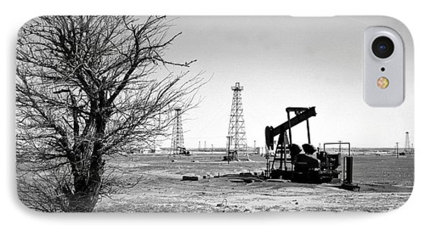 Oklahoma Oil Field IPhone Case