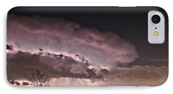 Oklahoma Sky Of Fire IPhone Case by James Menzies