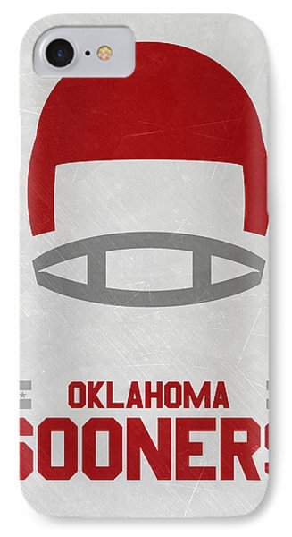 Oklahoma Sooners Vintage Football Art IPhone Case