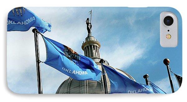Oklahoma  IPhone Case by Toni Hopper