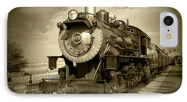 Old 475 - Bw IPhone Case by Lou Ford