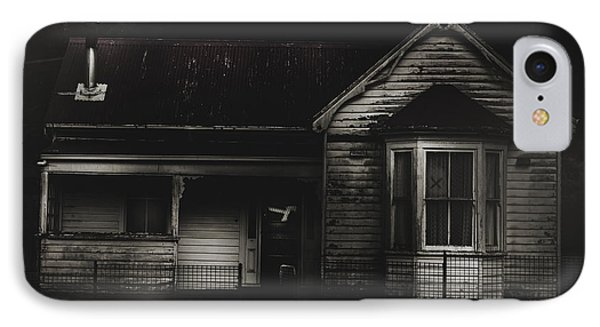 Old Abandoned Haunted House Of Horrors IPhone Case