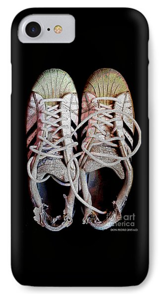 IPhone Case featuring the photograph Old Adidas Supestar II by Don Pedro De Gracia