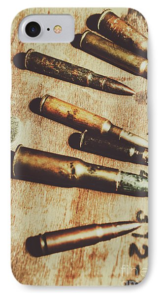 Old Ammunition IPhone Case by Jorgo Photography - Wall Art Gallery