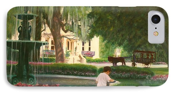 Old And Young Of Savannah Phone Case by Ben Kiger