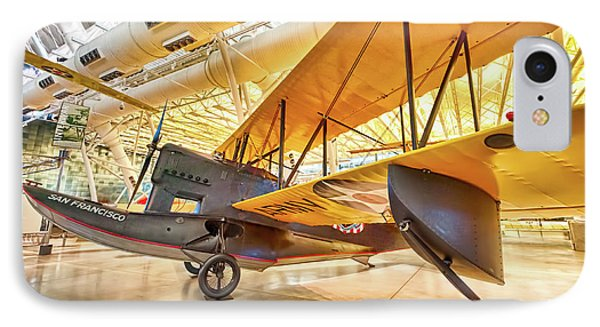 IPhone Case featuring the photograph Old Army Biplane by Lara Ellis