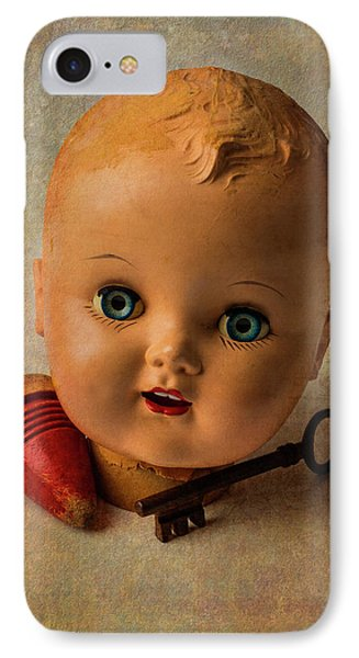 Old Baby Doll Head IPhone Case