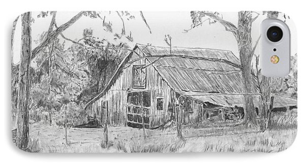 Old Barn 2 IPhone Case by Barry Jones