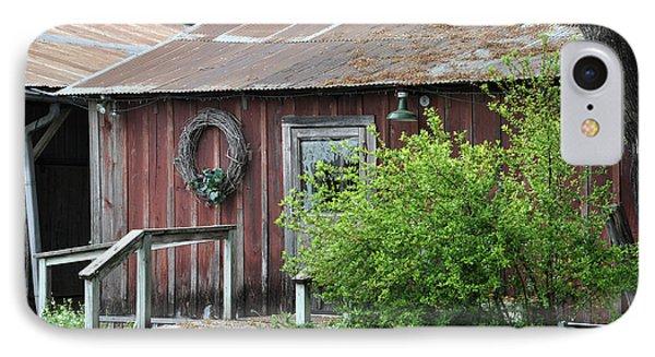 Old Barn 2 IPhone Case by Teresa Blanton