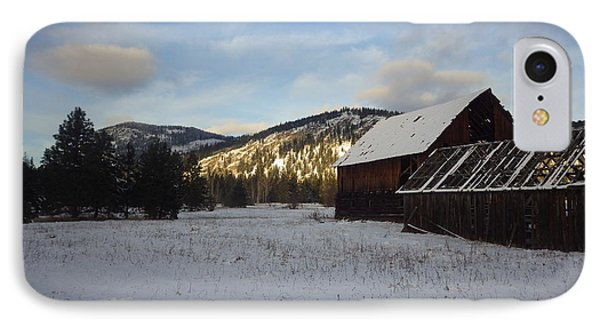 IPhone Case featuring the photograph Old Barn 2 by Victor K