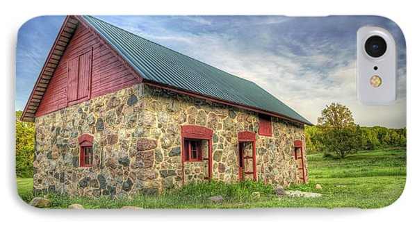 Old Barn At Dusk IPhone Case by Scott Norris