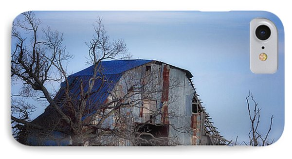 IPhone Case featuring the photograph Old Barn At Hilltop Arkansas by Michael Dougherty