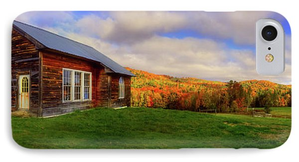 Old Barn In Autumn - Corinth Vermont IPhone Case by Joann Vitali