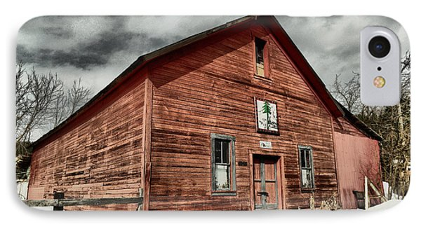 IPhone Case featuring the photograph Old Barn In Roslyn Wa by Jeff Swan