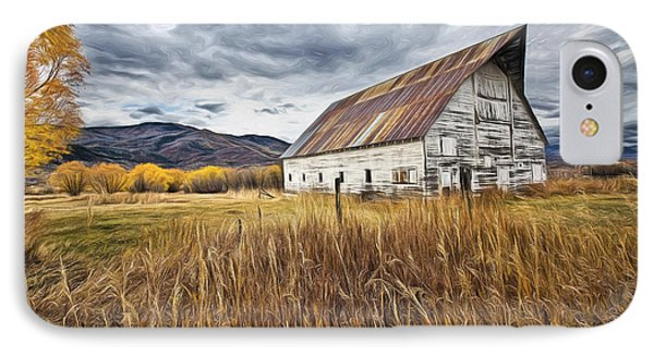 Old Barn In Steamboat,co IPhone Case