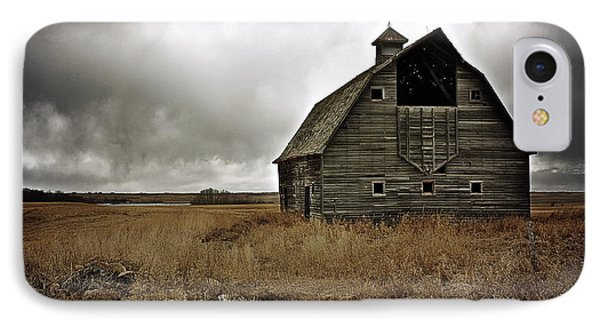 Old Barn IPhone Case by Linda Bianic