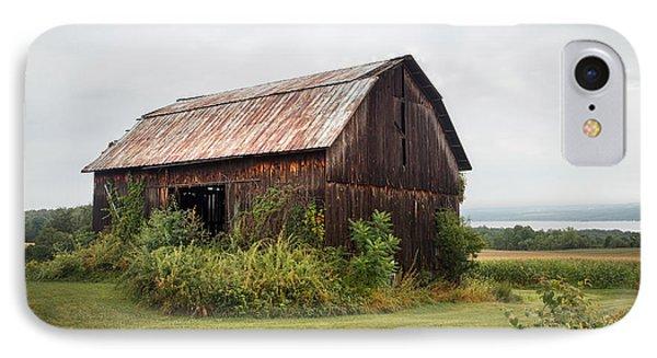 Old Barn On Seneca Lake - Finger Lakes - New York State IPhone Case by Gary Heller