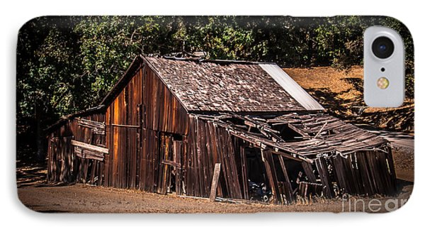 Old Barn River Road Sonoma County IPhone Case