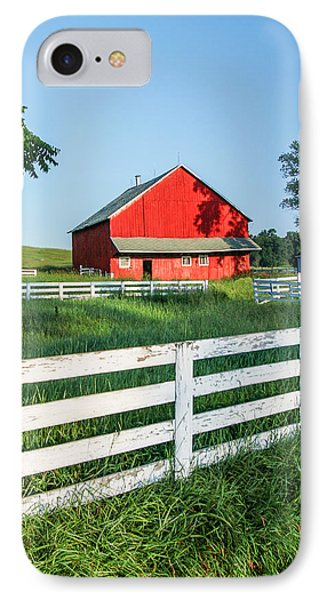 Old Barn IPhone Case by Todd Klassy
