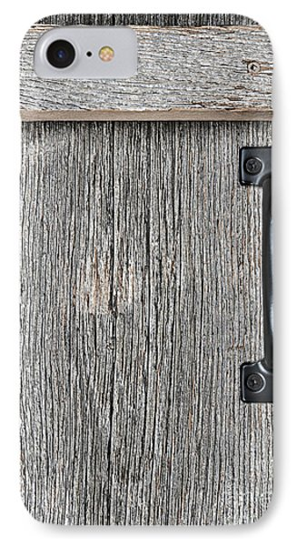 Old Barn Wood Door IPhone Case by Elena Elisseeva