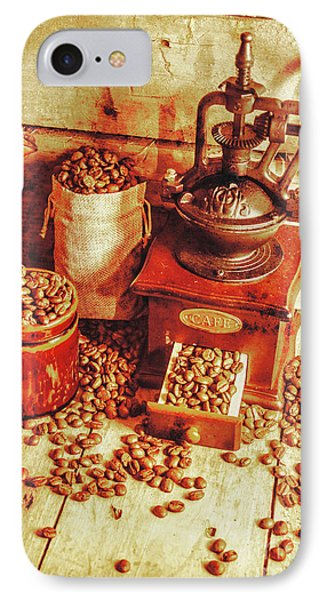 Old Bean Mill Decor. Kitchen Art IPhone Case