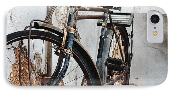 Old Bike II IPhone Case by Robert Meanor