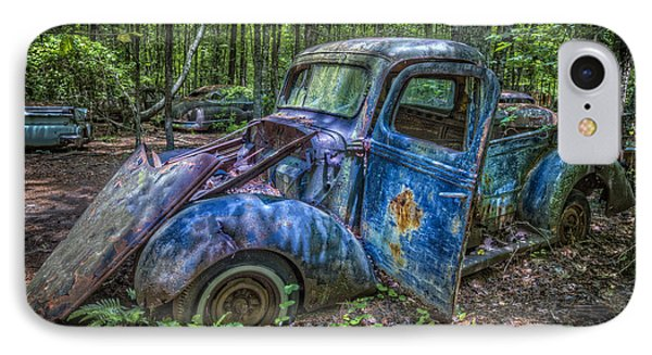 Old Blue In The Woods IPhone Case