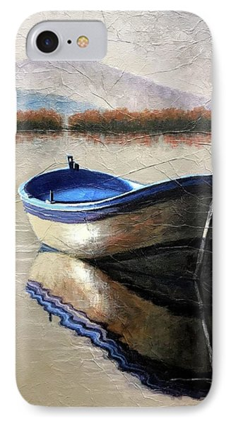 Old Boat IPhone Case by Janet King