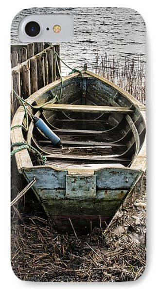 Old Boat IPhone Case by Mike Santis