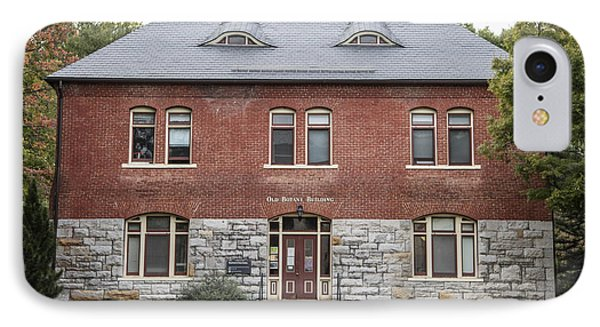 Old Botany Building Penn State  IPhone 7 Case by John McGraw