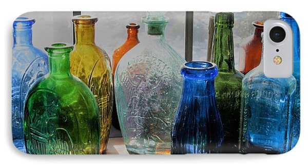 IPhone Case featuring the photograph Old Bottles by John Scates