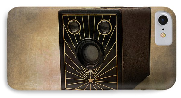 Old Box Camera IPhone Case by Garry Gay