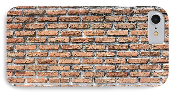 IPhone Case featuring the photograph Old Brick Wall by Jingjits Photography