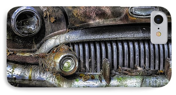 Old Buick Front End IPhone Case by Walt Foegelle