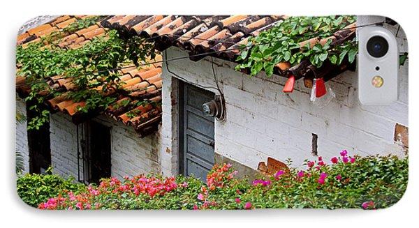 Old Buildings In Puerto Vallarta Mexico Phone Case by Elena Elisseeva