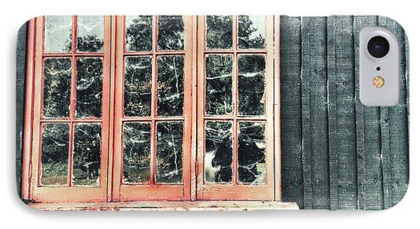Old Cabin Window IPhone Case by Tom Gowanlock