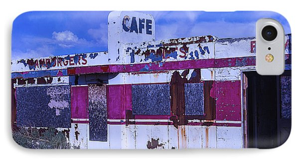 Old Cafe Rout 66 IPhone Case