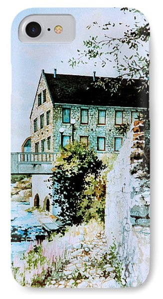 Old Cambridge Mill IPhone Case by Hanne Lore Koehler